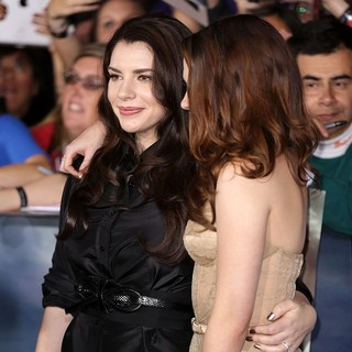 Stephenie Meyer, Kristen Stewart in The Premiere of The Twilight Saga's Breaking Dawn Part II