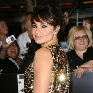 Mia Maestro in The Twilight Saga's Breaking Dawn Part I World Premiere