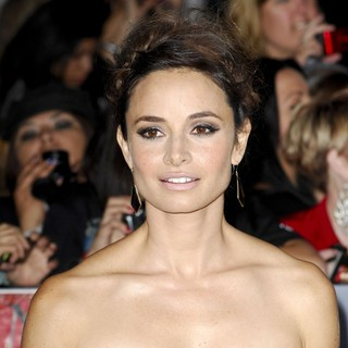 Mia Maestro in The Premiere of The Twilight Saga's Breaking Dawn Part II