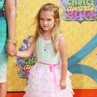 Mia Talerico in Nickelodeon's 27th Annual Kids' Choice Awards - Arrivals
