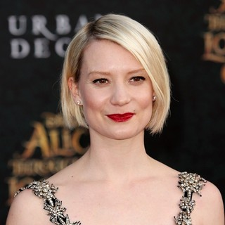 Mia Wasikowska in Premiere of Disney's Alice Through the Looking Glass