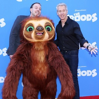 Kirk De Micco, Chris Sanders in The Croods Premiere - Arrivals