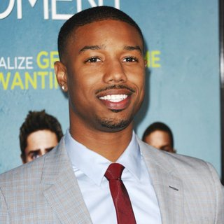 Michael B. Jordan in Premiere of That Awkward Moment