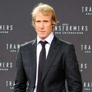 Michael Bay in The European Premiere of Transformers: Age of Extinction