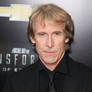 Michael Bay in New York City Premiere of Transformers: Age of Extinction