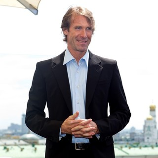 Michael Bay in Transformers 3: Dark of the Moon Photocall
