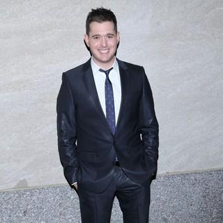 Michael Buble in The 2011 Rockefeller Center Christmas Tree Lighting Ceremony
