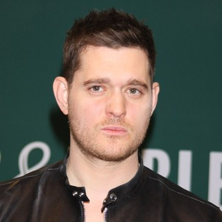Michael Buble in Michael Buble Signs Copies of His Album To Be Loved