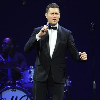 Michael Buble in Michael Buble Performs Live as Part of His To Be Loved Tour