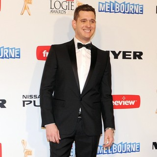 Michael Buble in TV Week Logie Awards - Red Carpet
