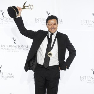 Michael Cordell in 41st International Emmy Awards