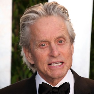 Michael Douglas in 2012 Vanity Fair Oscar Party - Arrivals