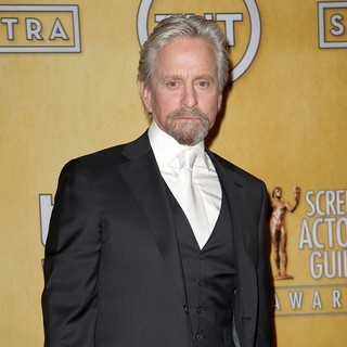 Michael Douglas in The 20th Annual Screen Actors Guild Awards - Press Room