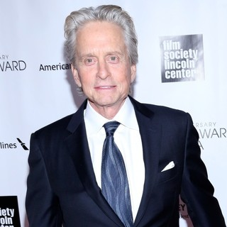 Michael Douglas in 40th Anniversary Chaplin Award Gala Honoring Barbra Streisand