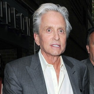 Michael Douglas in Michael Douglas Leaving A Cinema in Covent Garden