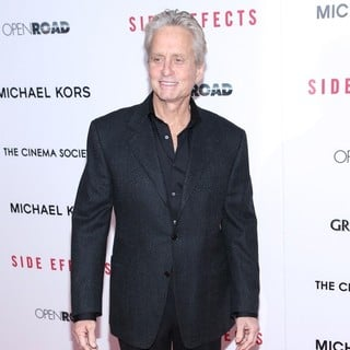 Michael Douglas in New York Premiere of Side Effects