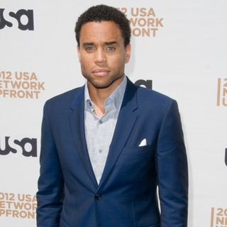 Michael Ealy in The 2012 USA Network Upfront Presentation - Arrivals