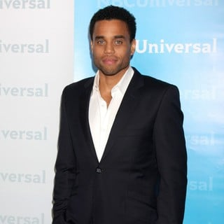 Michael Ealy in NBC Universal's Winter Tour Party - Arrivals
