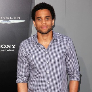 Michael Ealy in Los Angeles Premiere of Total Recall
