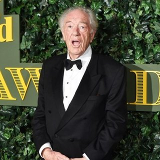 Michael Gambon in 2016 London Evening Standard Theatre Awards - Arrivals