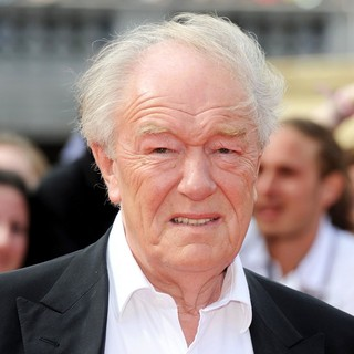 Michael Gambon in Harry Potter and the Deathly Hallows Part II World Film Premiere - Arrivals