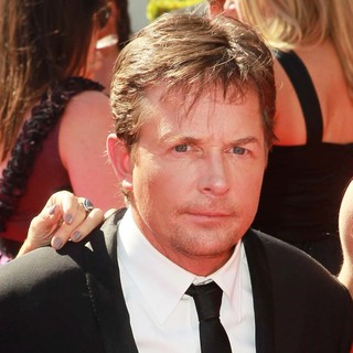 Michael J. Fox in 2012 Creative Arts Emmy Awards - Arrivals