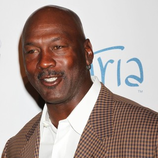 Michael Jordan in 12th Annual Michael Jordan Invitational Gala