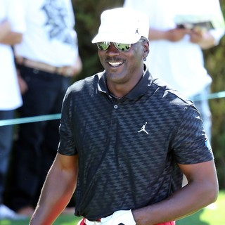 Michael Jordan in The Aria Resort and Casino Presents The Michael Jordan Celebrity Golf Invitational Tournament