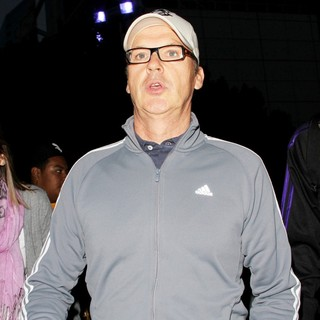 Michael Keaton in The Lakers Game