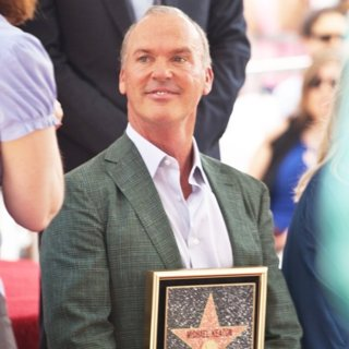 Michael Keaton in Michael Keaton Honored with Star on The Hollywood Walk of Fame