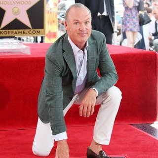 Michael Keaton-Michael Keaton Honored with Star on The Hollywood Walk of Fame