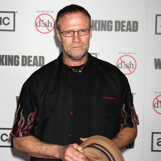 Michael Rooker in Premiere of AMC's The Walking Dead 3rd Season - Arrivals