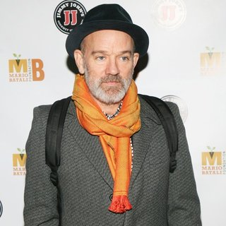 Michael Stipe in The 3rd Mario Batali Foundation Honors Dinner