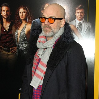 Michael Stipe in American Hustle New York Premiere