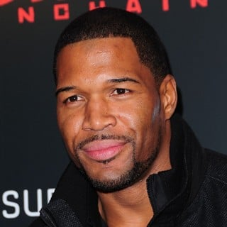 Michael Strahan in The Premiere of Django Unchained