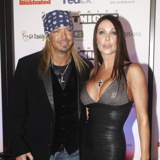 Bret Michaels, Kristi Gibson in Muhammad Ali Celebrity Fight Night XVII
