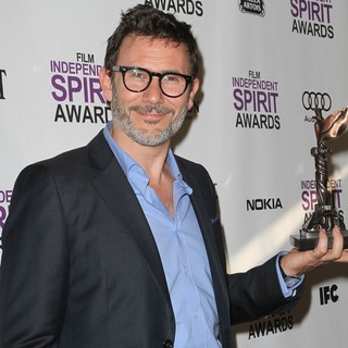 Michel Hazanavicius in 27th Annual Independent Spirit Awards - Press Room