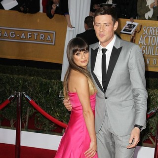 Lea Michele, Cory Monteith in 19th Annual Screen Actors Guild Awards - Arrivals