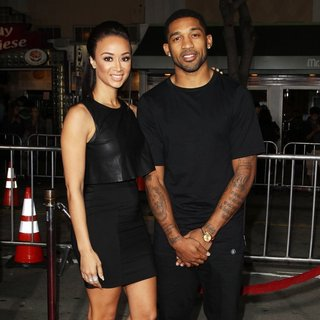 Draya Michele, Orlando Scandrick in Premiere of Universal Pictures and Studiocanal's Non-Stop