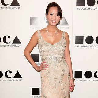 Michelle Chin in 2011 MOCA Gala: An Artist's Life Manifesto - Arrivals
