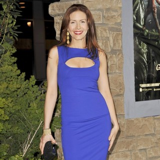 Michelle Clunie in Premiere of Jack the Giant Slayer