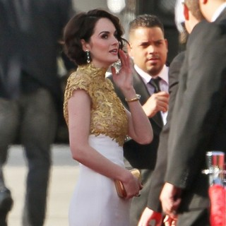 Michelle Dockery in 70th Annual Golden Globe Awards - Arrivals