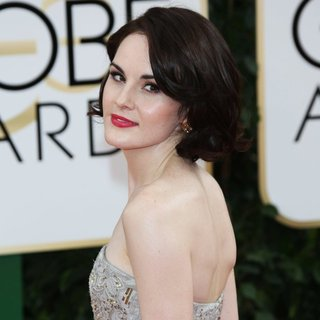 Michelle Dockery in 71st Annual Golden Globe Awards - Arrivals