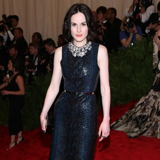 Michelle Dockery in PUNK: Chaos to Couture Costume Institute Gala