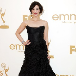 Michelle Forbes in The 63rd Primetime Emmy Awards - Arrivals