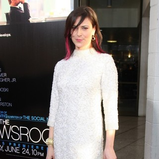 Michelle Forbes in HBO's The Newsroom Los Angeles Premiere