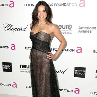 Michelle Rodriguez in The 20th Annual Elton John AIDS Foundation's Oscar Viewing Party - Arrivals
