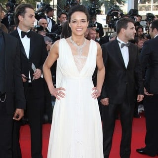Michelle Rodriguez in Killing Them Softly Premiere - During The 65th Cannes Film Festival