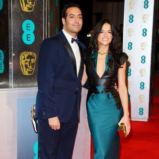 Michelle Rodriguez in EE British Academy Film Awards 2014 - Arrivals