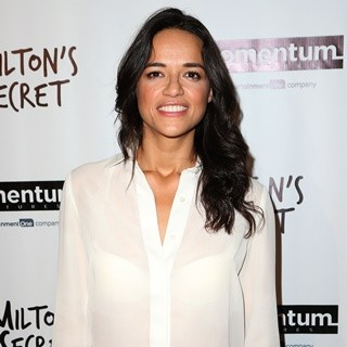 Michelle Rodriguez-Premiere of Milton's Secret